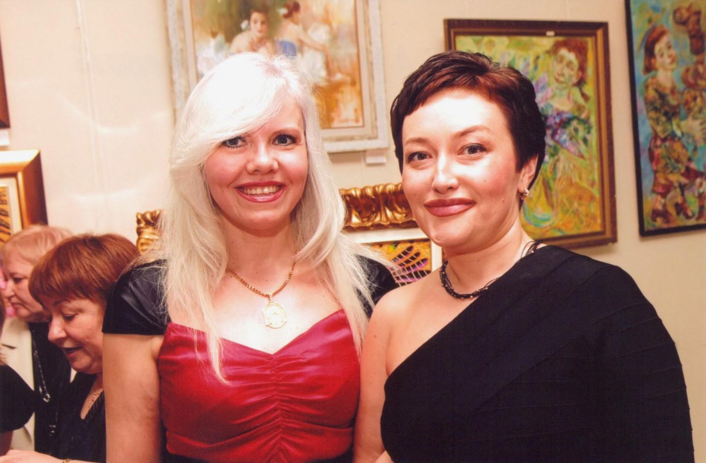 Со Светланой Слесаревой