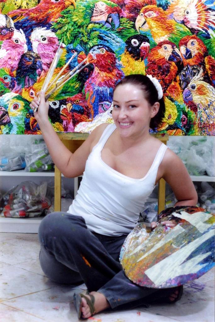 Босс №4 (82), май 2005 года Style Art Миры художника Ирины Чернавиной