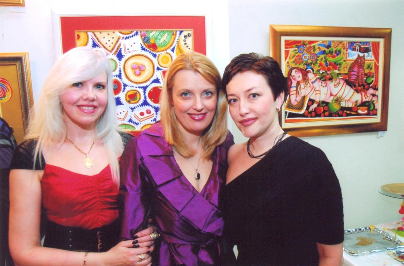 Со Светланой Слесаревой и Ириной Макарян-Баталиной