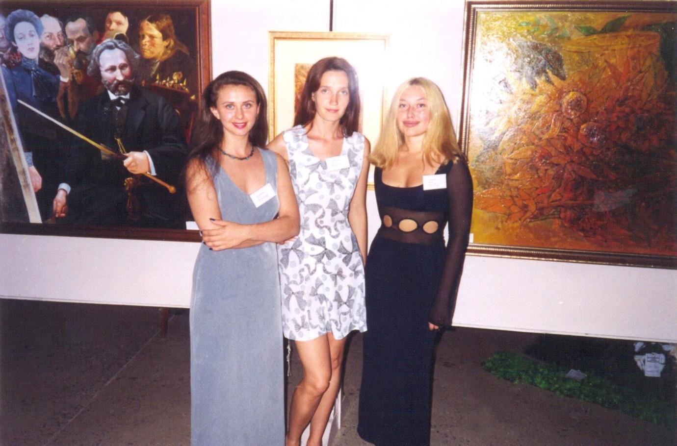 Выставка 2000 г. в зале С.Х. Самары
