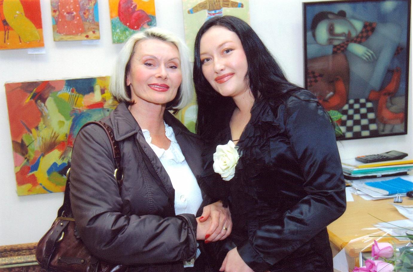 С Маргаритой Шараповой