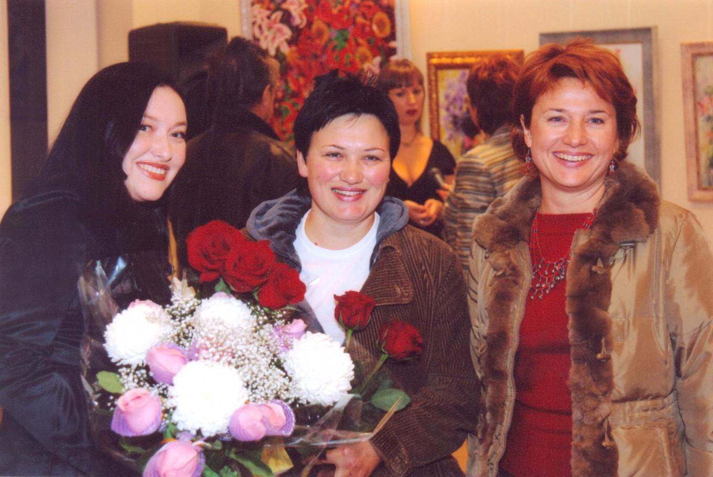 С Еленой Овчинниковой иТатьяной Семиколеновой