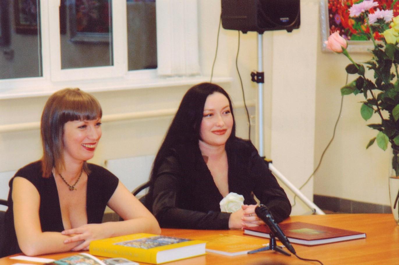 Пресс-конференция с галерее Вавилон Выставка совместно с Аллой Шахматовой