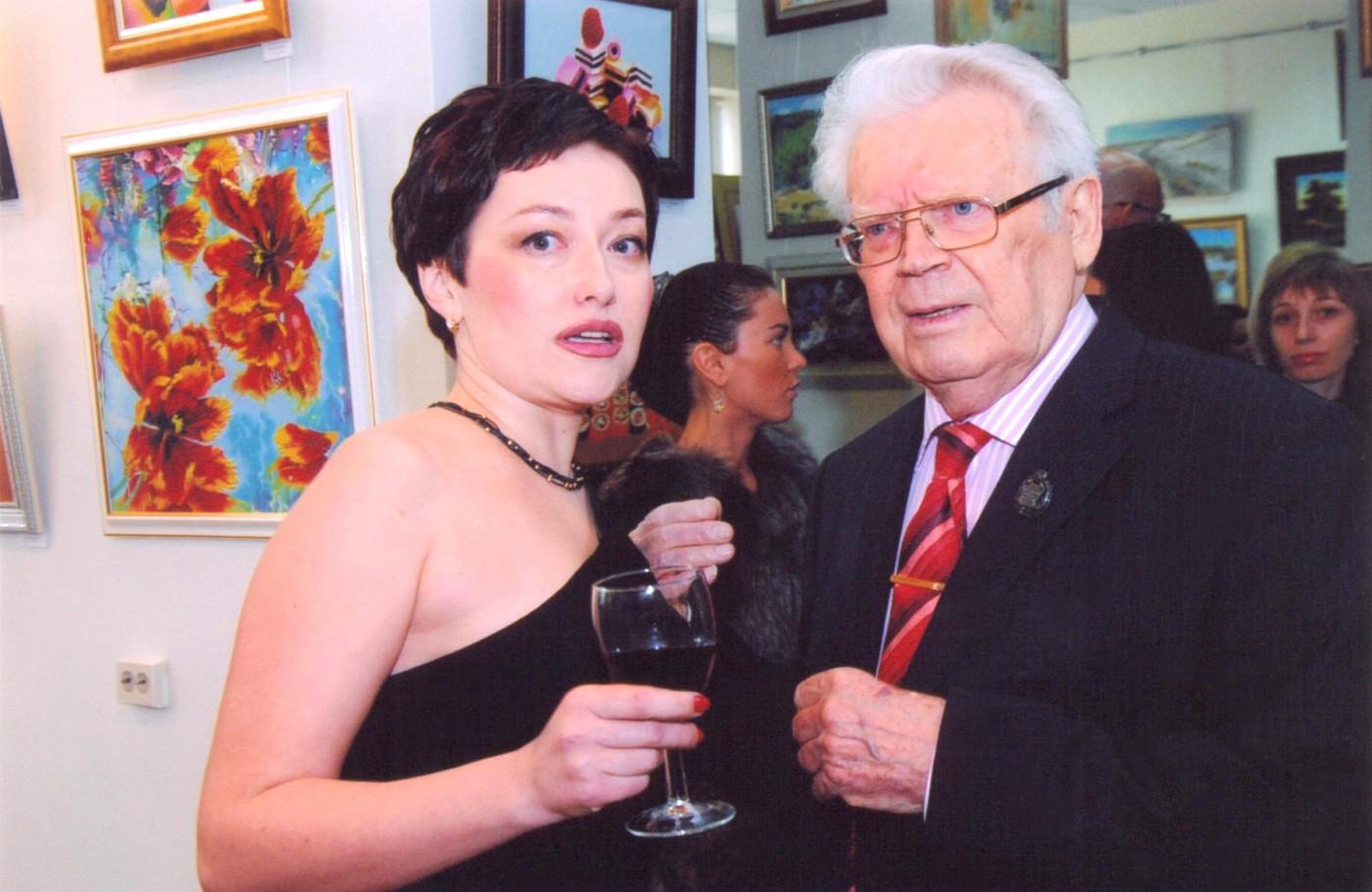 С Юрием Филипповым. Заслуженный художник России. Мой учитель.